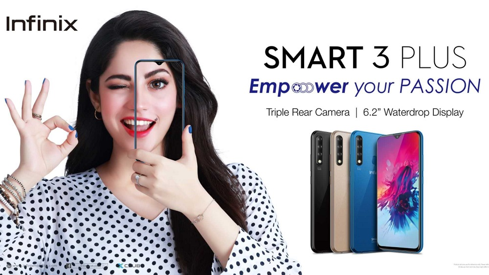 Infinix Smart 3 Plus goes on sale for Rs.16,999
