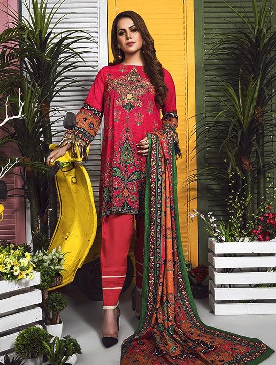 Khas Designer Lawn Eid Festive Collection 2019 (1)
