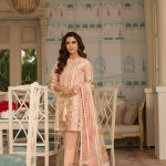 Saira Shakira Eid Crimson Luxury Lawn 2019 (4)