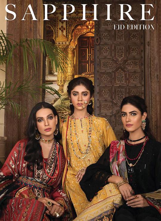 Sapphire Eid Edition Traditional Design 2019 (1)