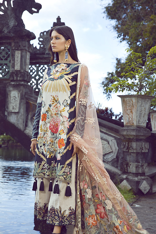 Shiza Hassan's Eid Lawn Dresses Collection 2019 (7)