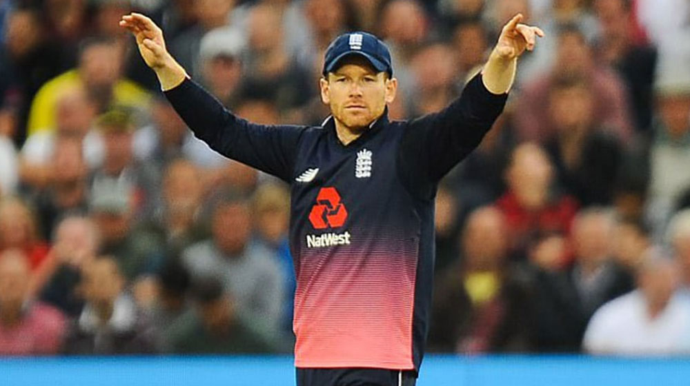 The captain of England, Eoin Morgan, suspended from the 4th ODI against Pakistan