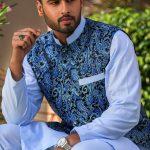 Men's Eid Kurta Kameez And Waistcoat Collection 2019 By Sanaullah Store 5