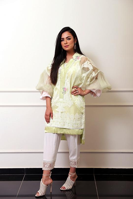 Women's Nureh Eid Collection 2019 By Farah Talib Aziz 4