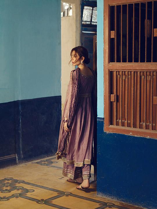 Umsha By Uzma Babar Women's Eid Dresses Collection 2019 13