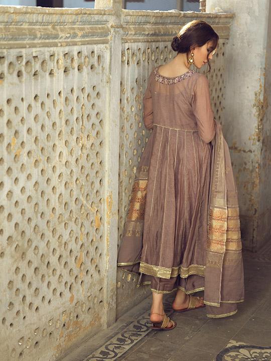 Umsha By Uzma Babar Women's Eid Dresses Collection 2019 17
