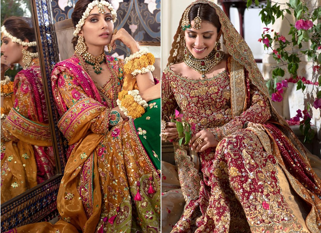 Lovely Elaheh collection by Farah Talib Aziz with Ayeza Khan (1)