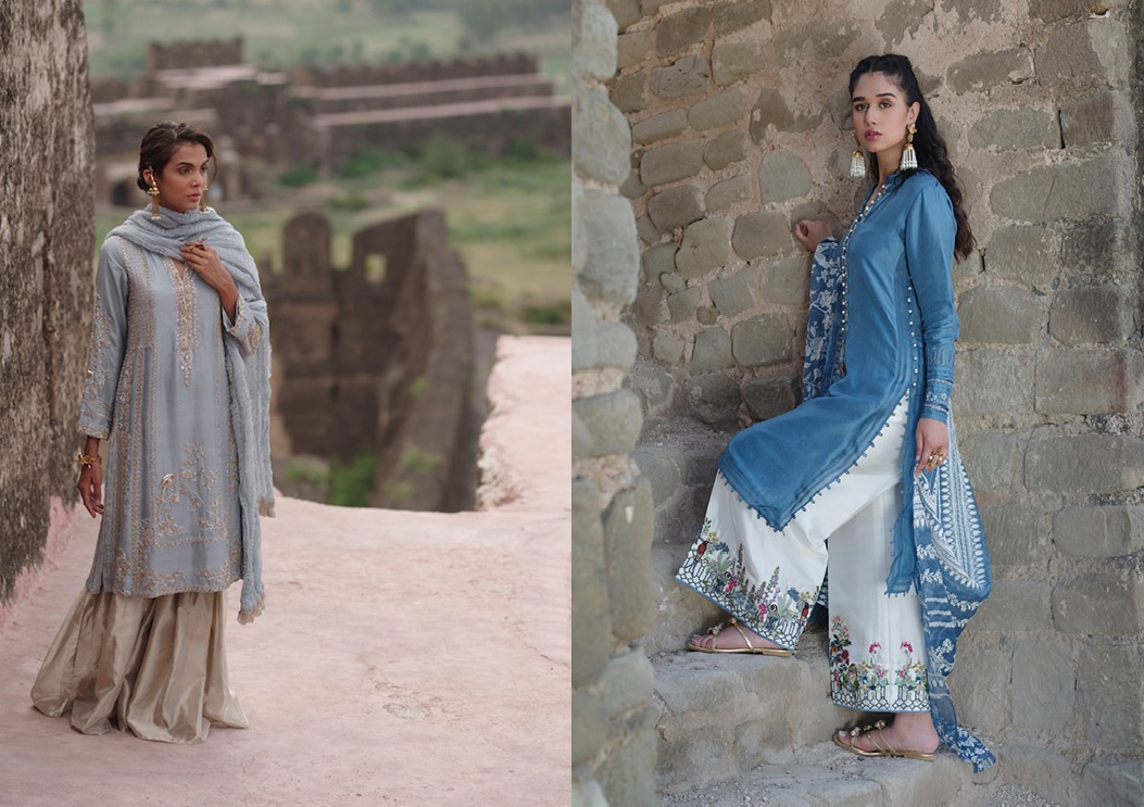 """6 Dresses From Nida Azwer's """"Rohtasgarh"""" Collection 2019 (1)"""