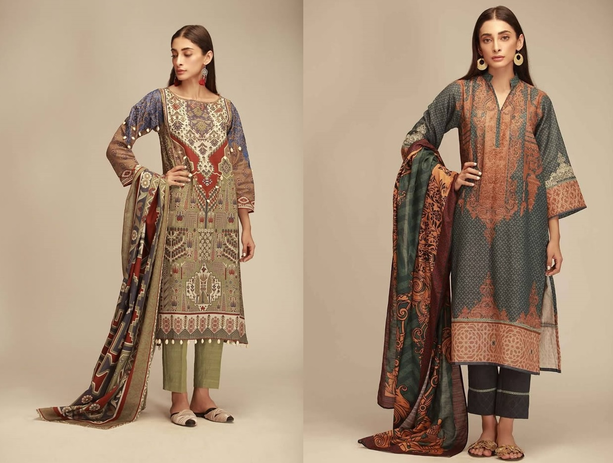 Printed Lawn Unstitched Collection 2019 By Khaadi (1)