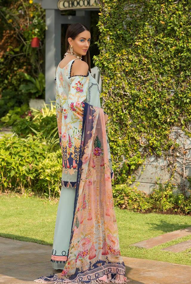 Saadia Asad Womens Digital Printed Lawn Collection 2019 (6)