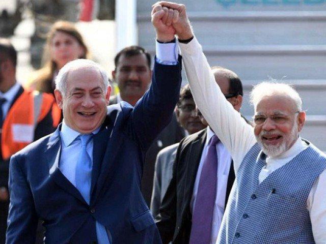 Is Israel in Kashmir (1)