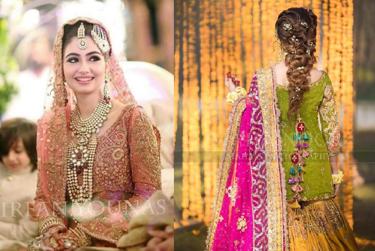 Pakistani Bridals Mehndi Dresses Ideas 2019 (1)
