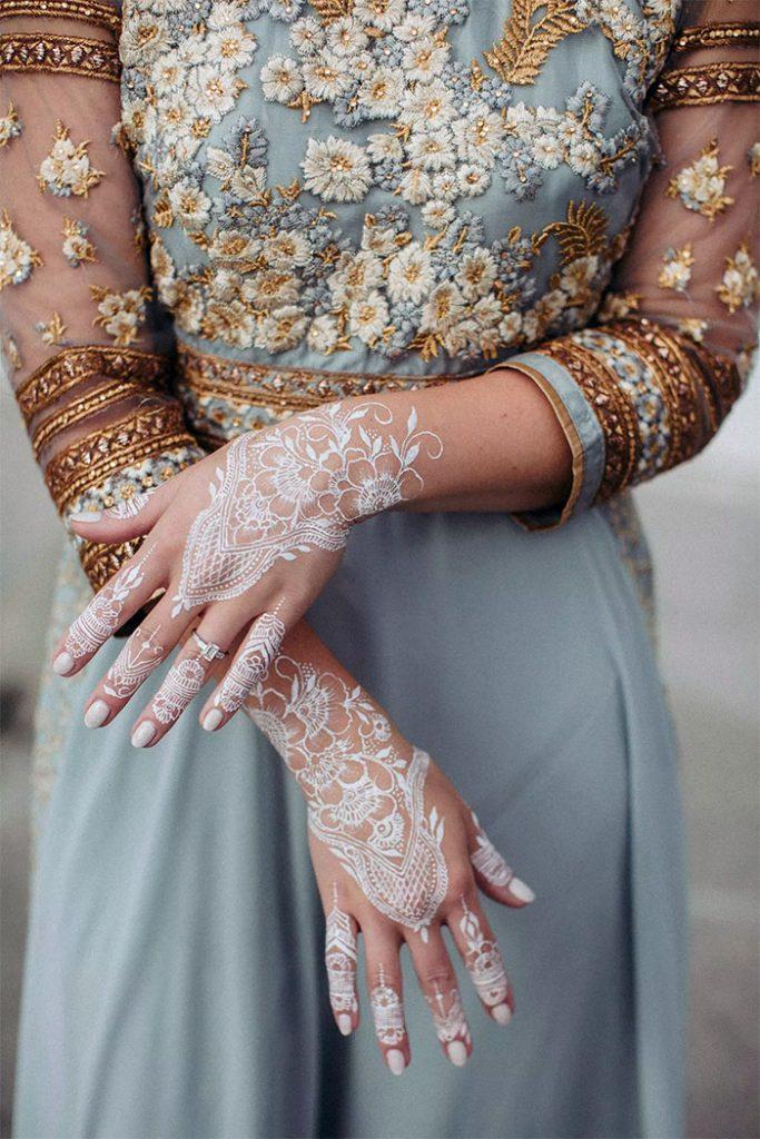 Women's Love White Henna Fashion 2019 (5)