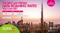 Zong 4G Launches 2 Exclusive Prepaid Roaming Packages for UAE