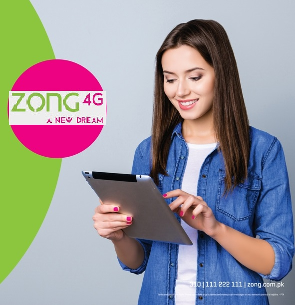Zong 4G first to launch Prepaid and Post Roaming Bundles for China