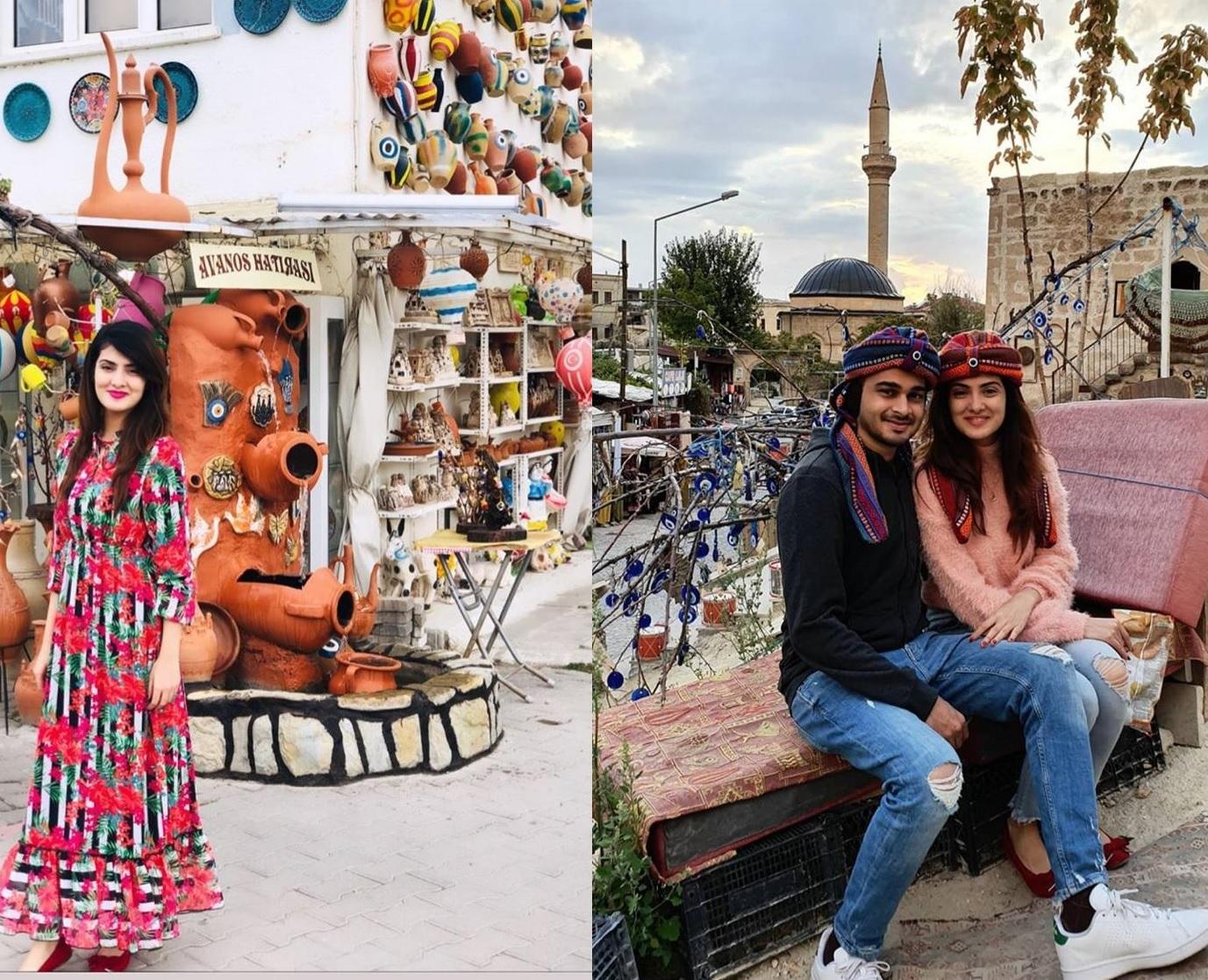 Alizeh Tahir Pakistani Actress Pictures from Cappadocia Turkey (1)
