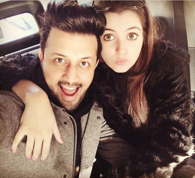 Atif Aslam Latest Images with his Wife Sara Bharwana (10)