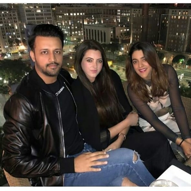 Atif Aslam Latest Images with his Wife Sara Bharwana (14)