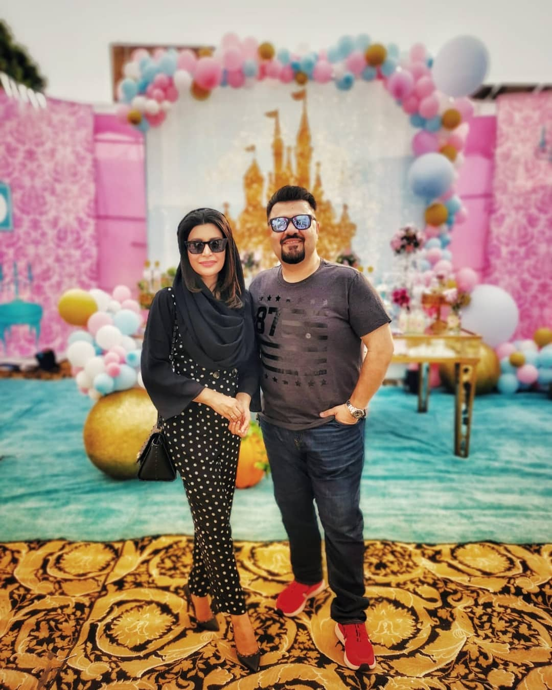 Fawad Khan Daughter Elayna Fawad Birthday Party Images With Pakistani Celebrities (10)