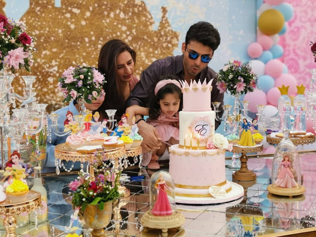 Fawad Khan Daughter Elayna Fawad Birthday Party Images With Pakistani Celebrities (11)