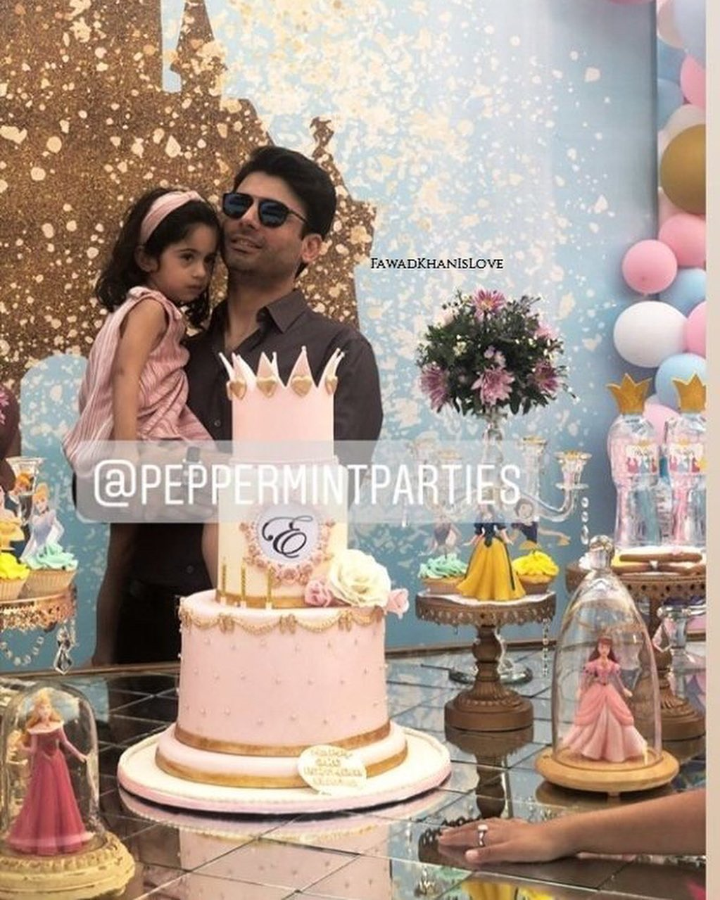 Fawad Khan Daughter Elayna Fawad Birthday Party Images With Pakistani Celebrities (12)
