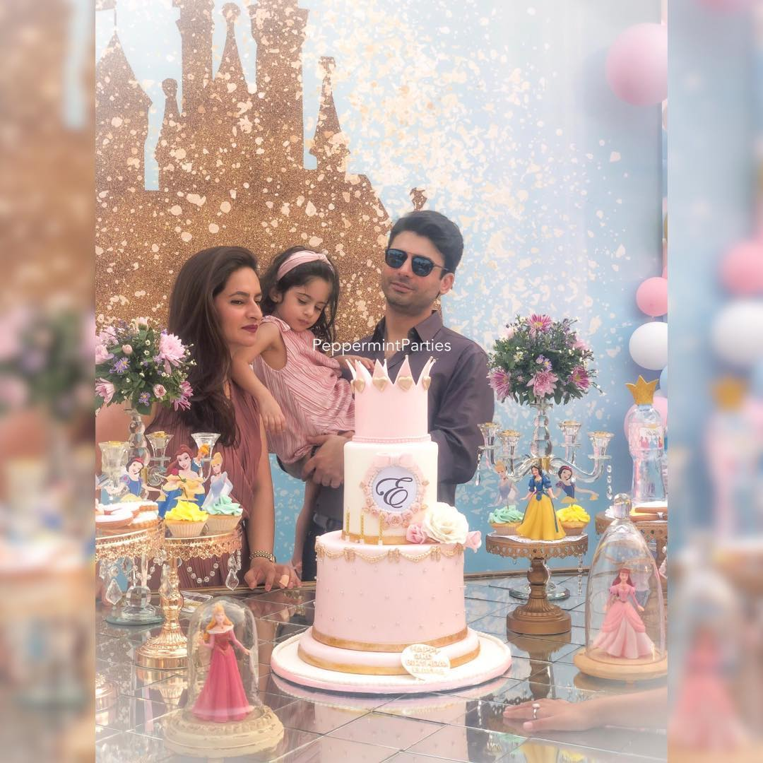 Fawad Khan Daughter Elayna Fawad Birthday Party Images With Pakistani Celebrities (15)