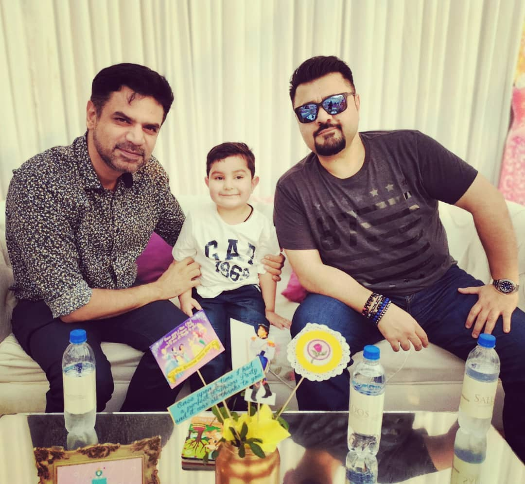 Fawad Khan Daughter Elayna Fawad Birthday Party Images With Pakistani Celebrities (5)