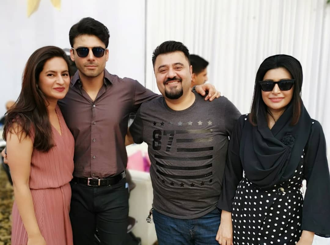 Fawad Khan Daughter Elayna Fawad Birthday Party Images With Pakistani Celebrities (8)
