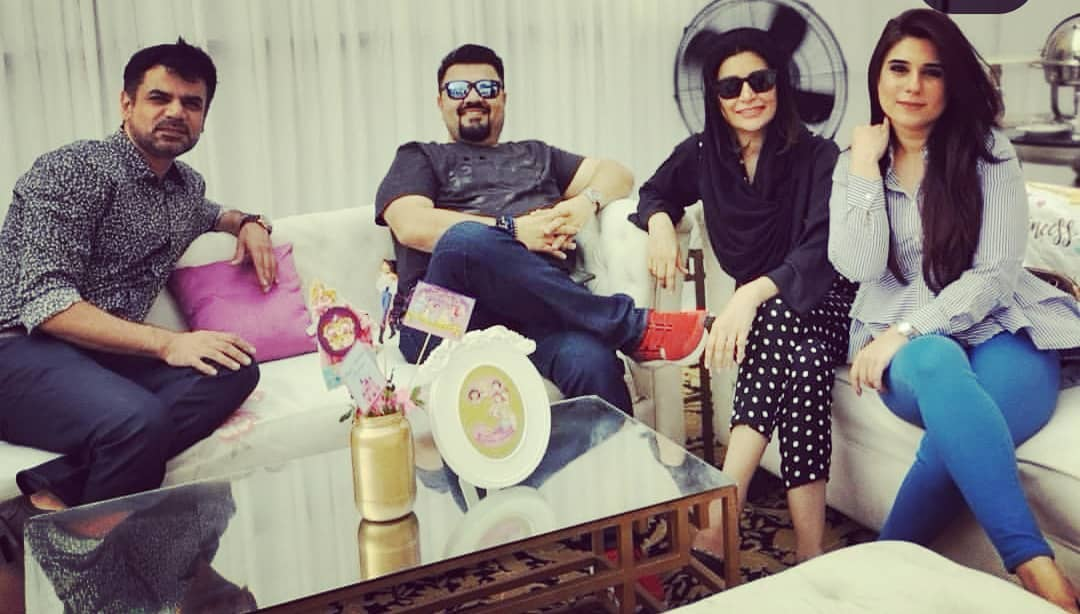 Fawad Khan Daughter Elayna Fawad Birthday Party Images With Pakistani Celebrities (9)