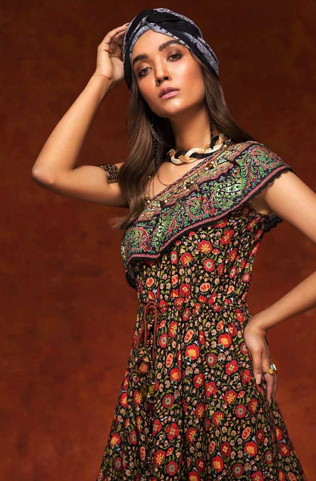 Gul Ahmed Gulistan Winter Glamour Unstitched Collection 2019 (10)