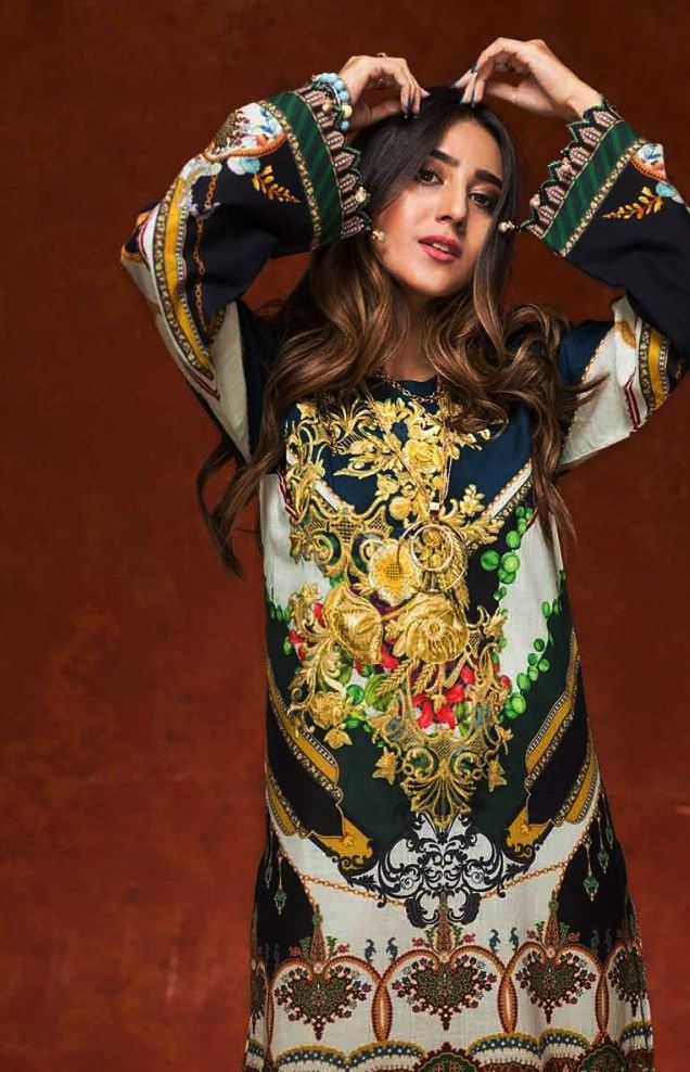 Gul Ahmed Gulistan Winter Glamour Unstitched Collection 2019 (15)