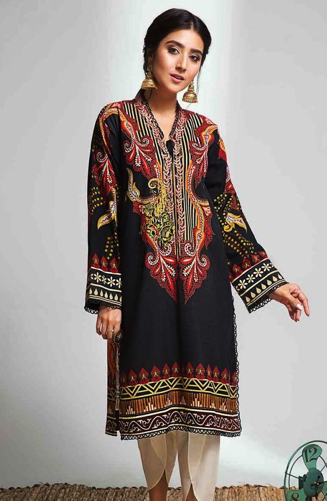 Gul Ahmed Gulistan Winter Glamour Unstitched Collection 2019 (43)