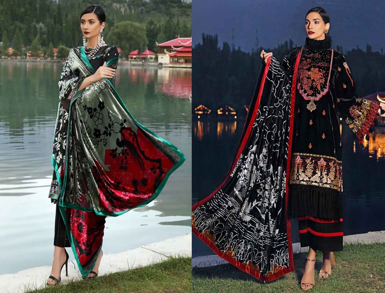 Gul Ahmed Latest Winter Collection 2019 (45)