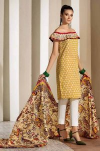 Gul Ahmed Two Piece Winter Collection 2019 (1)