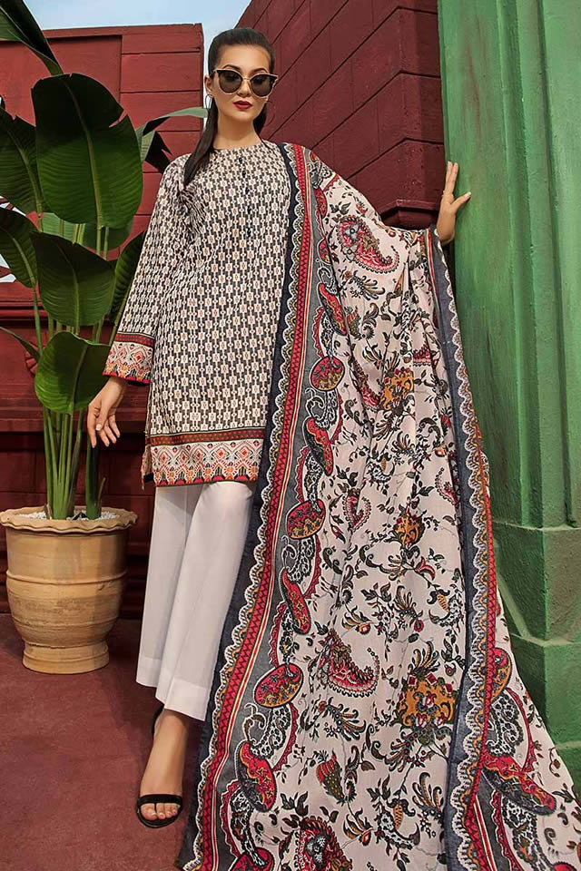 Gul Ahmed Two Piece Winter Collection 2019 (11)