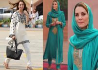 Kate Middleton Dresses 8 Style During Her Trip To Pakistan (1)