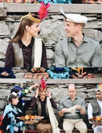 Prince and Princes of Cambridge Chitral Tour Images (1)