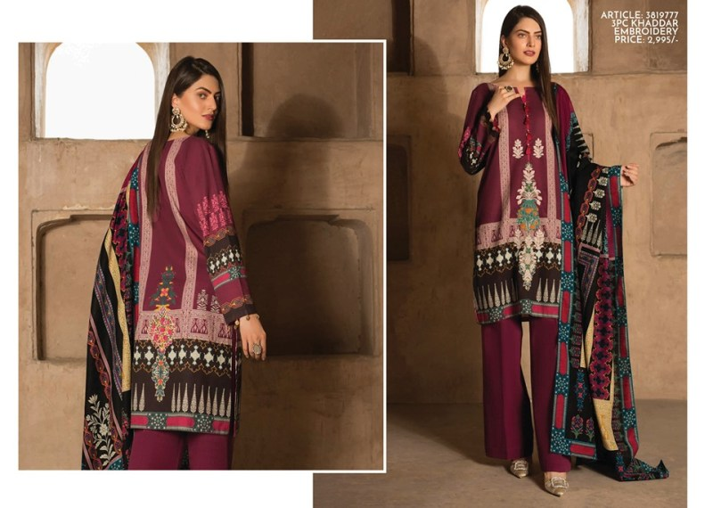 Warda Winter Unstitched Womens Wear Collection 2019-20 (4)