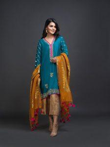 Zaaviay Pure Kataan Silk Collection Khwahish Vol. 3 2019-20 (15)