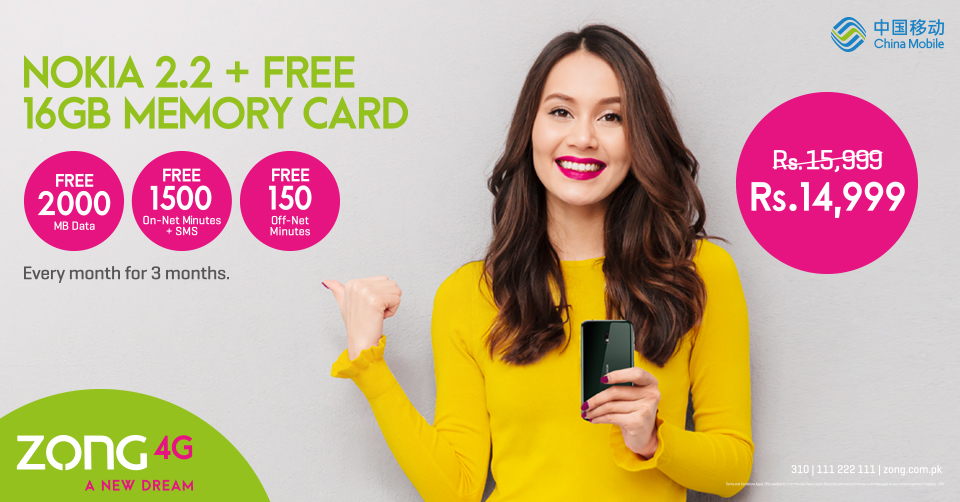 Zong 4G in collaboration with Fortumo launches Google Play carrier billing in Pakistan October XXth, 2019