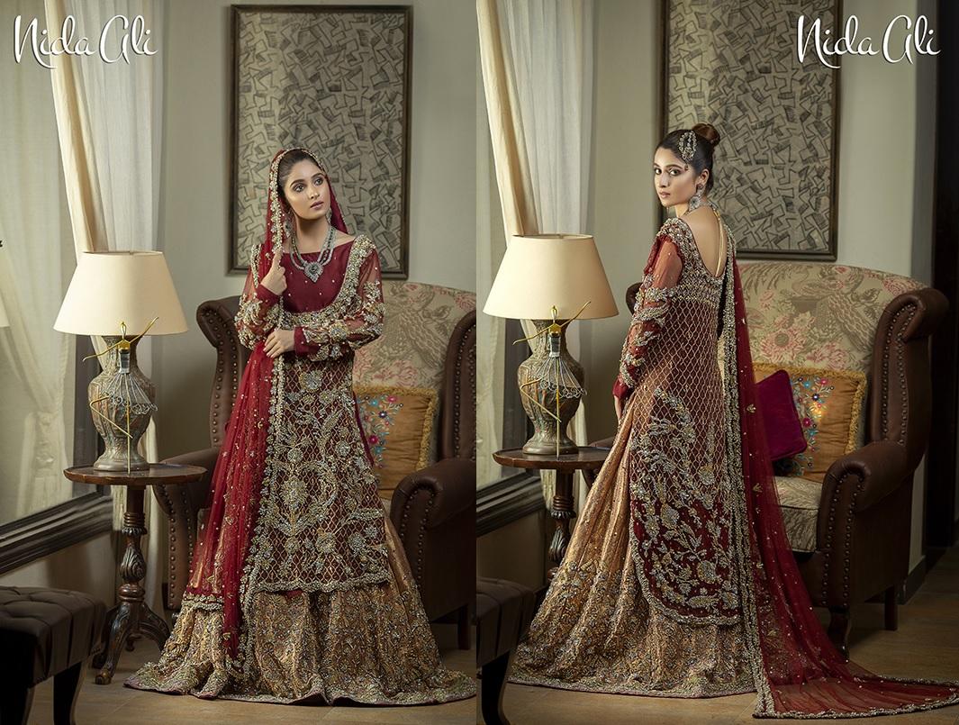 Dreamy Bridals Wear Collection 2019 By Nida Ali (1)