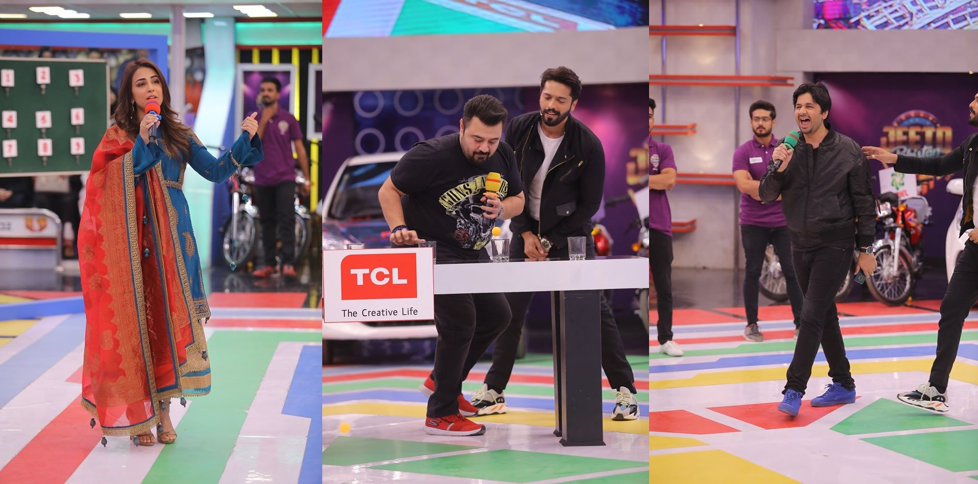 Famous Celebrities Spotted at Jeeto Pakistan Gyara Gyara 11-11 Special Show (8)