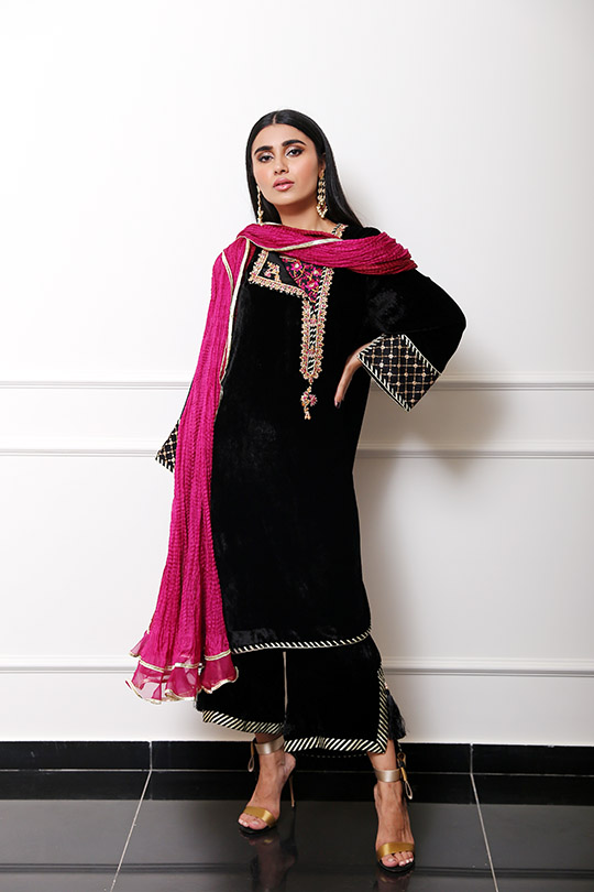 Farah Talib Aziz Winter Festive Looks That Will Take Your Style Higher (6)