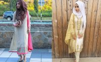 How to Wear Hijab with Shalwar Kameez 2019-20 (1)