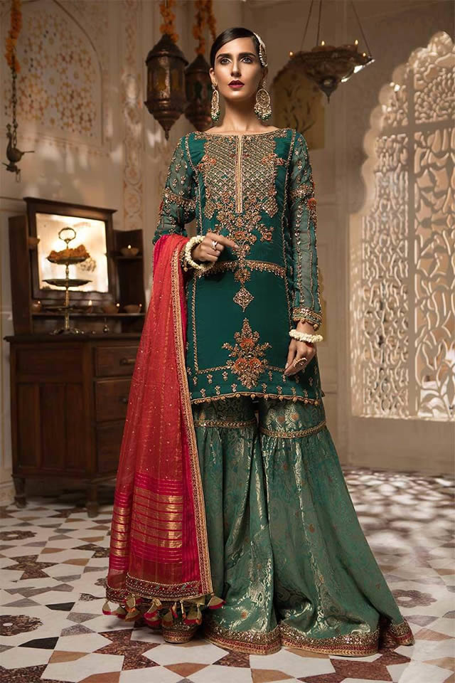 Maria B Luxury Bridal Dresses Collection 2019-20 (10)