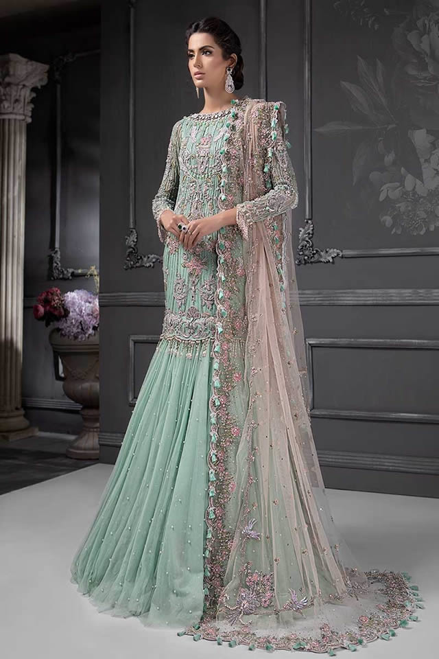 Maria B Luxury Bridal Dresses Collection 2019-20 (12)