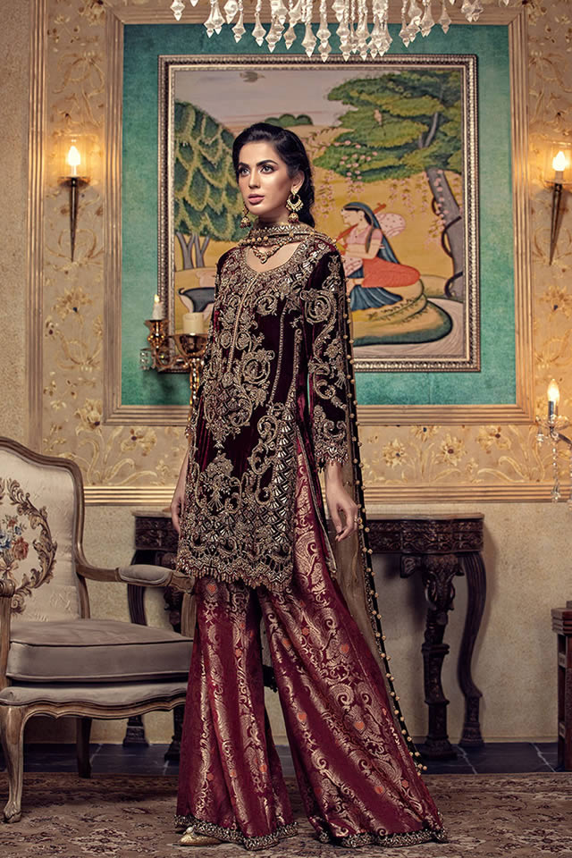 Maria B Luxury Bridal Dresses Collection 2019-20 (5)