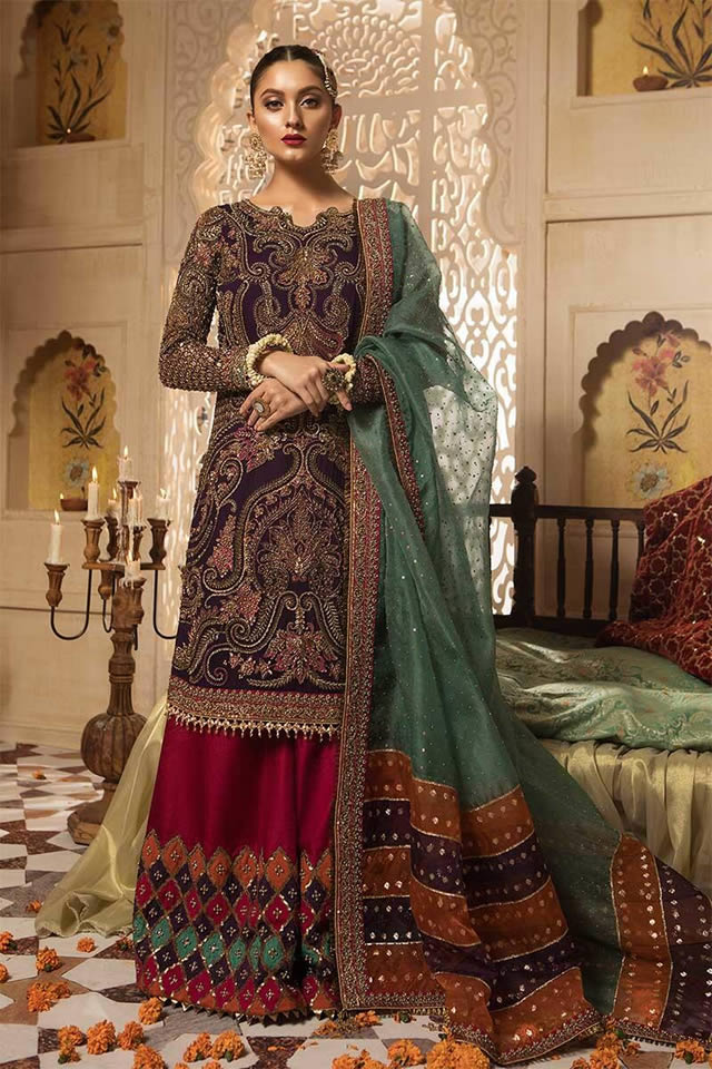 Maria B Luxury Bridal Dresses Collection 2019-20 (8)
