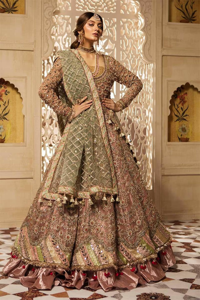 Maria B Luxury Bridal Dresses Collection 2019-20 (9)