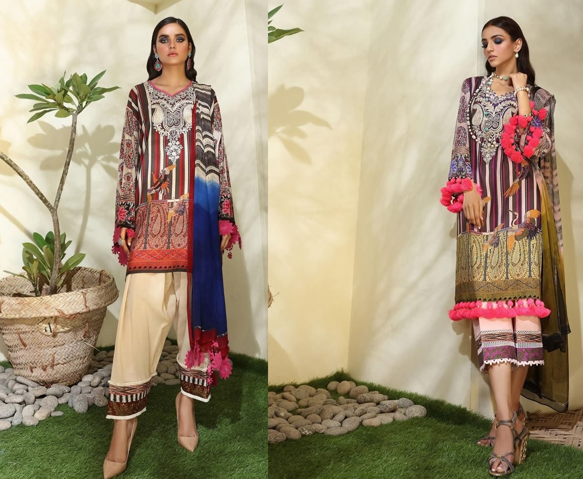 Muslin Winter Latest Collection 2019-20 By Sana Safinaz (4)